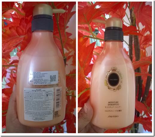 Shiseido Ma Cherie Shampoo Orange Champagne