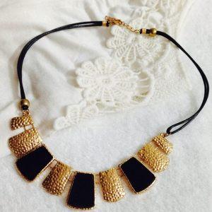 golden neckpiece