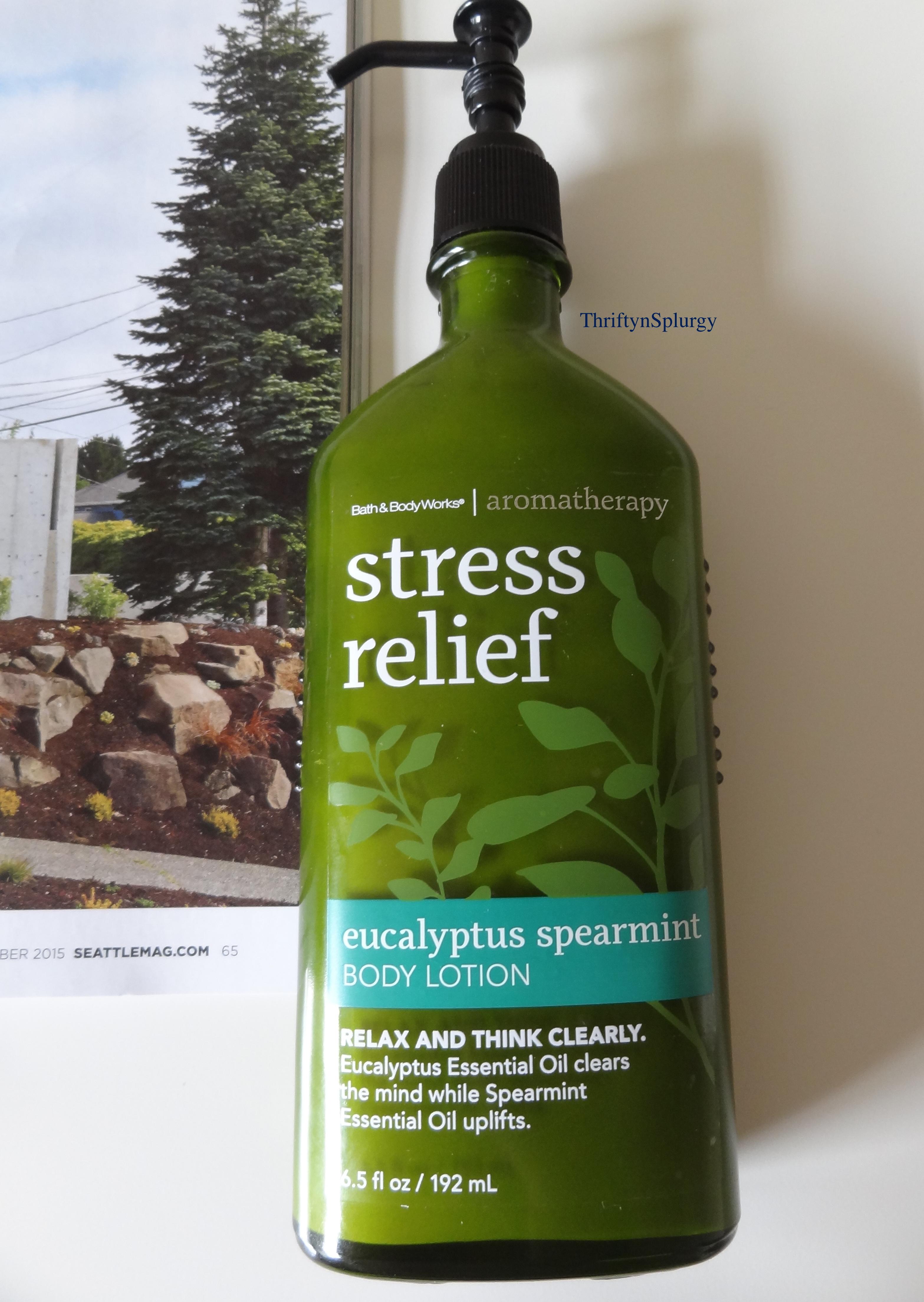 Aromatherapy Body Lotion Eucalyptus Spearmintbath Body Works